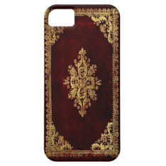 Phone Cover - Antique Book - Victorian Style at Zazzle