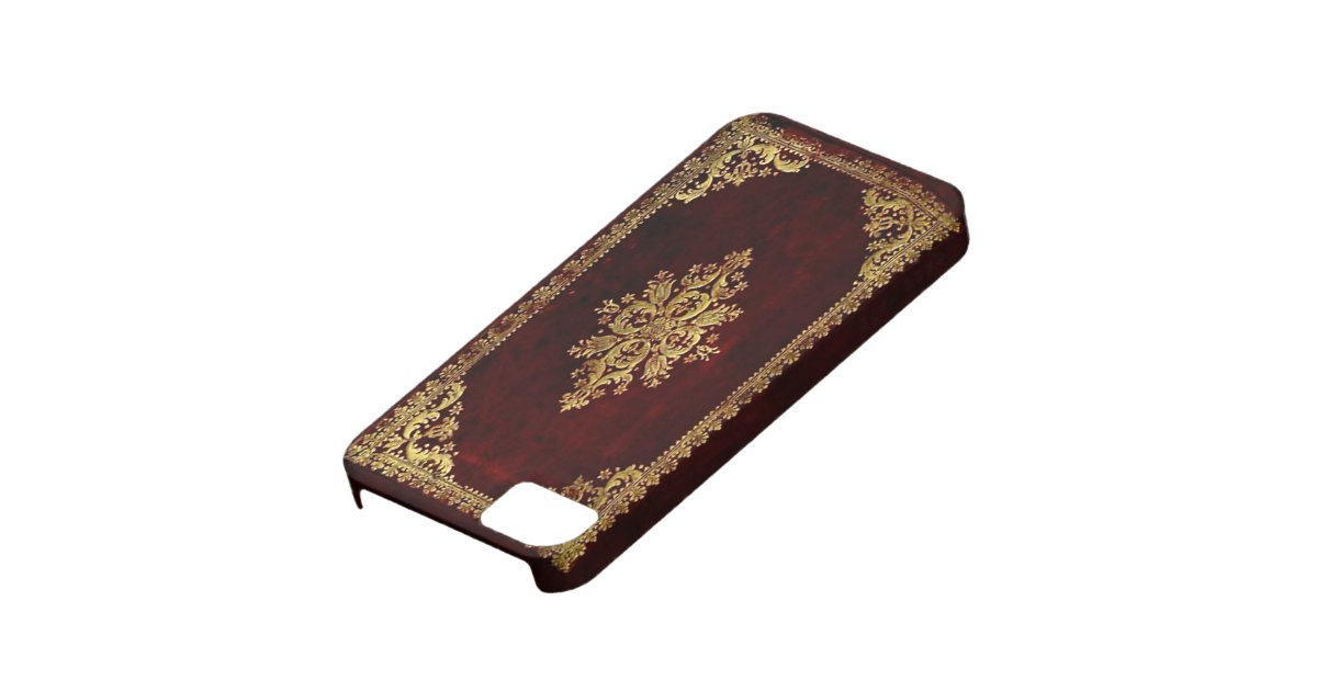 Old Book Phone Cover : Phone cover antique book victorian style zazzle