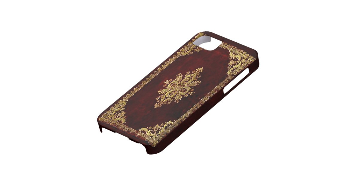 Old Book Phone Cover ~ Phone cover antique book victorian style zazzle