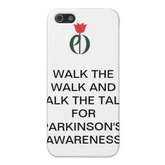Phone cover Parkinson's conversation piece
