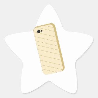 Phone Cover Star Sticker