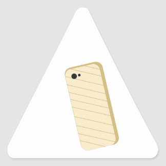Phone Cover Triangle Sticker