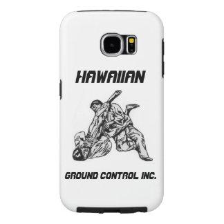 Phone cover with Hawaiian Ground Control Inc Logo Samsung Galaxy S6 Cases