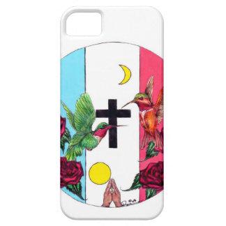 Phone cover-Yaqui Flag iPhone SE/5/5s Case