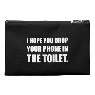 Phone Falls In Toilet Travel Accessory Bags