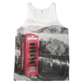 Phone Home All-Over Print Tank Top