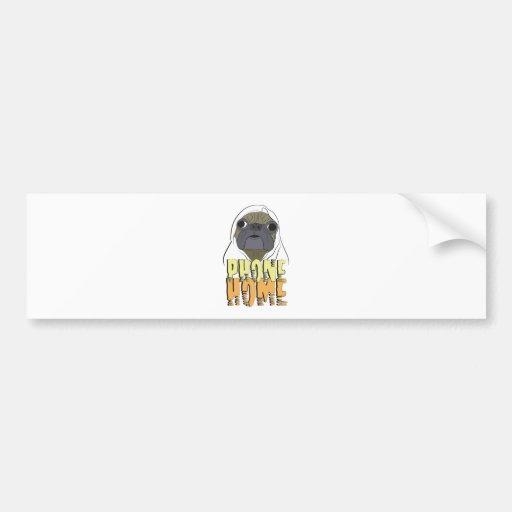 PHONE HOME bumper sticker