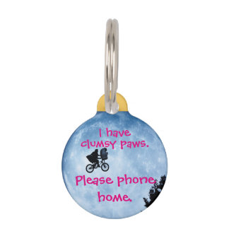 Phone Home Pet Tag