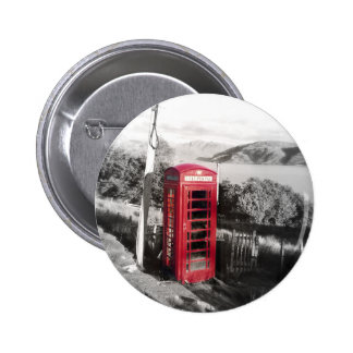 Phone Home Pinback Button