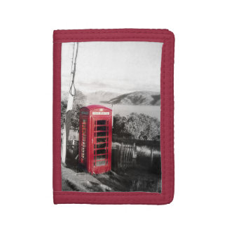 Phone Home Tri-fold Wallet