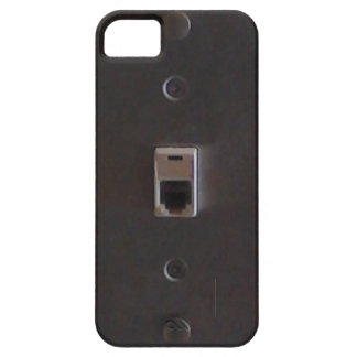 Phone jack for land line home phones. iPhone 5 case