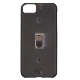 Phone jack for land line home phones. case for iPhone 5C