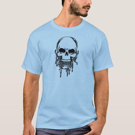 Phone Jacks Skull T-Shirt