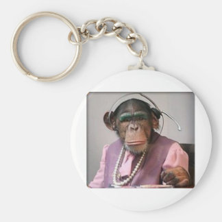 phone monkey keychain