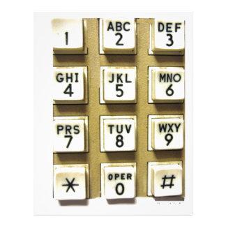 Phone Numbers Letterhead