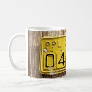 phone post coffee mug