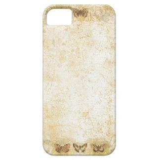 phone protector case=antique butterflies iPhone SE/5/5s case
