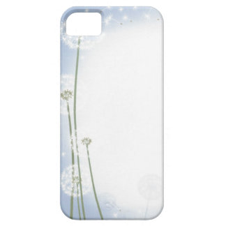 phone protector case=powder puffs,blue sky iPhone SE/5/5s case