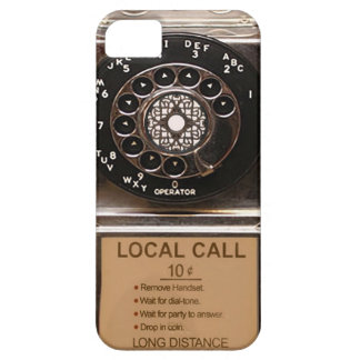 Phone rotary dial telephone cell case pay phone iPhone 5 cover