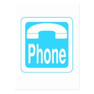 Phone_Sign Postcard