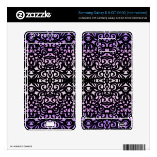 Phone Skin Damask Style Samsung Galaxy S II Decal