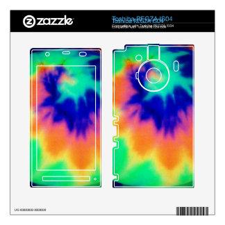 Phone Skin-Light Tie Dye Design Toshiba REGZA Decal