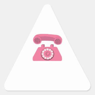 Phone Triangle Sticker