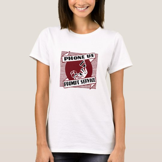 Phone Us T-Shirt