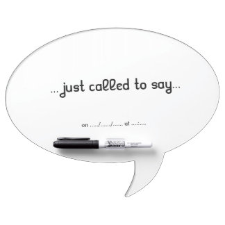 Phone whiteboard Dry-Erase whiteboard