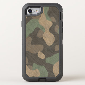 Phone woodland military camouflage OtterBox defender iPhone 7 case