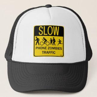 Phone Zombies Traffic Trucker Hat