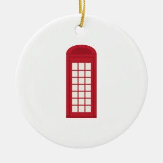 Phonebooth_base Adorno Redondo De Cerámica