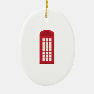 Phonebooth_base Adorno Ovalado De Cerámica