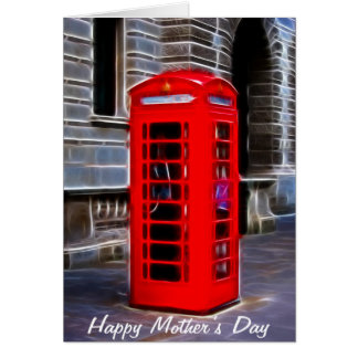 Phonebox Mother's Day Card