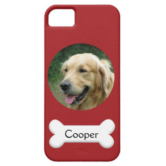 PhoneCase - Custom pet (dog) photo and name iPhone SE/5/5s Case