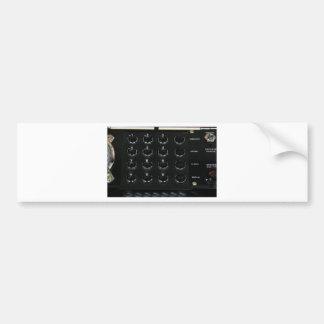 PhoneRetroButtons041109-2 Bumper Sticker
