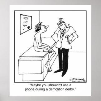 Phones & Demolition Derbys Poster