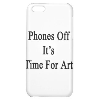 Phones Off It's Time For Art iPhone 5C Cases