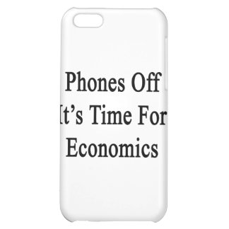 Phones Off It's Time For Economics Case For iPhone 5C