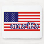 Phonetic America Mouse Pad