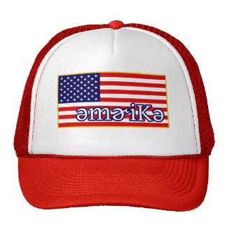 Phonetic America Trucker Hat