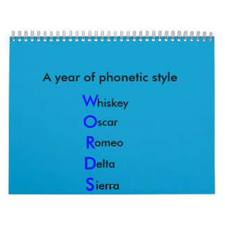 phonetic Calendar
