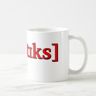 Phonetics in IPA. Red Coffee Mug
