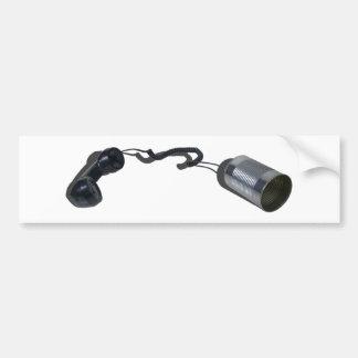 PhoneTinCan030313.png Bumper Sticker