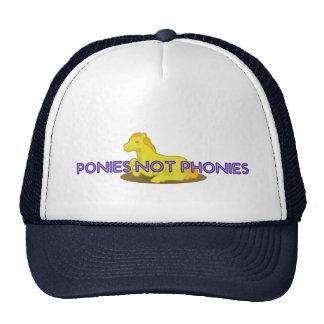 Phonies de los potros no gorras