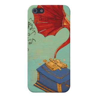 Phonograph Cover For iPhone SE/5/5s