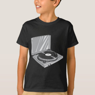 Phonograph Record Player Vintage Retro 2 T-Shirt