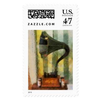 Phonograph Stamp