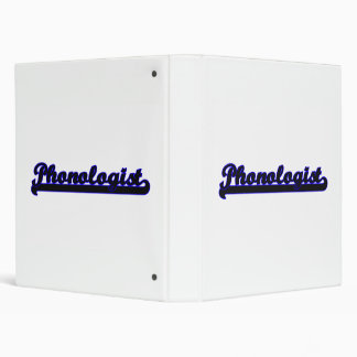 Phonologist Classic Job Design Binders