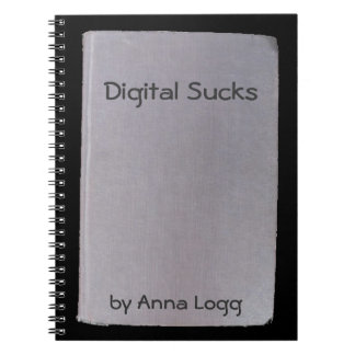 Phony book, funny author  no.10 Analog Notebook